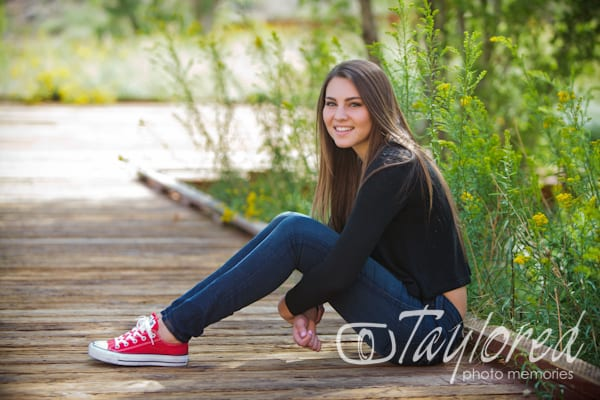 senior portraits - taylored photo memories