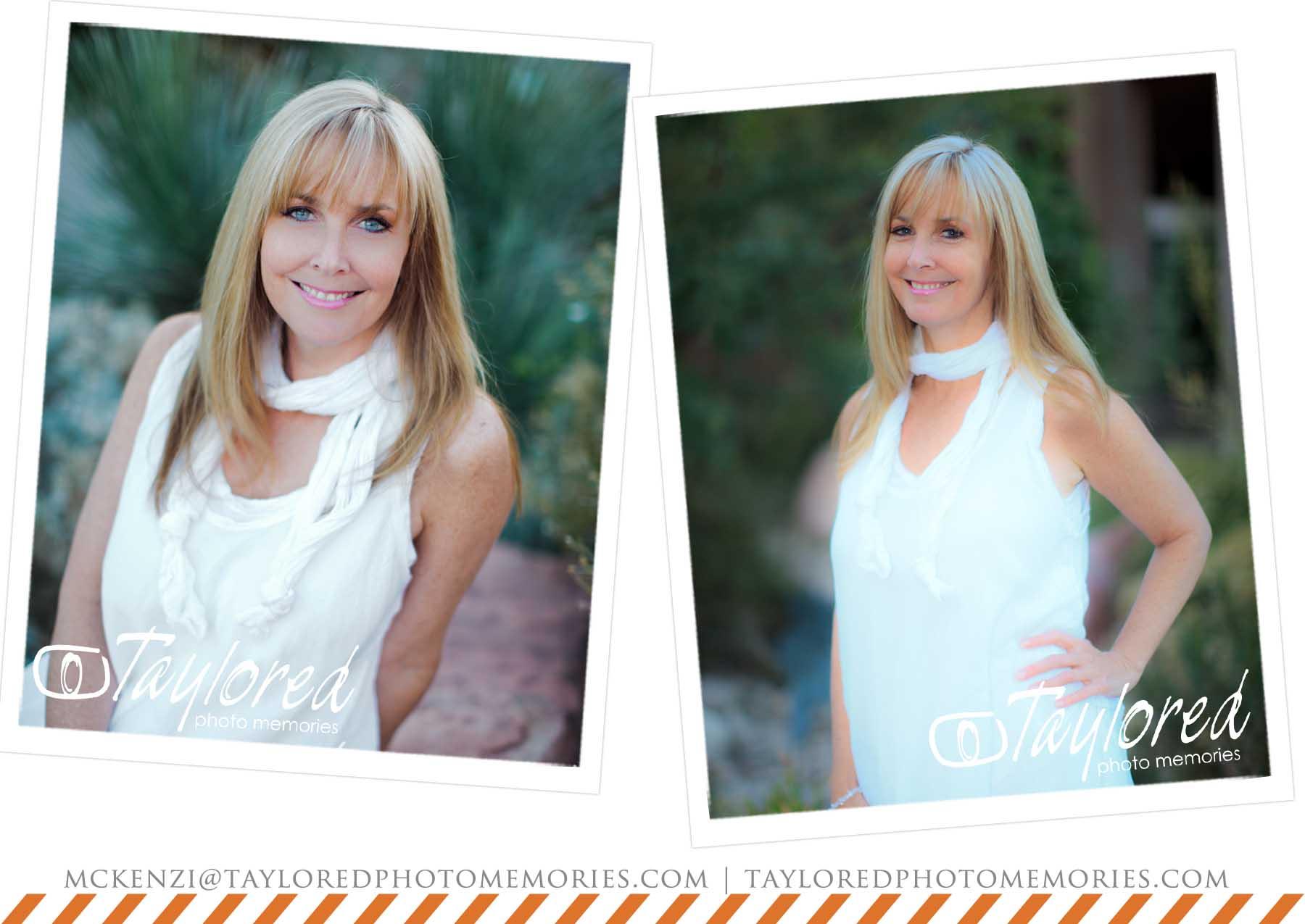 Adventure Wedding Photographer - Las Vegas Head Shots - Taylored Photo Memories 1