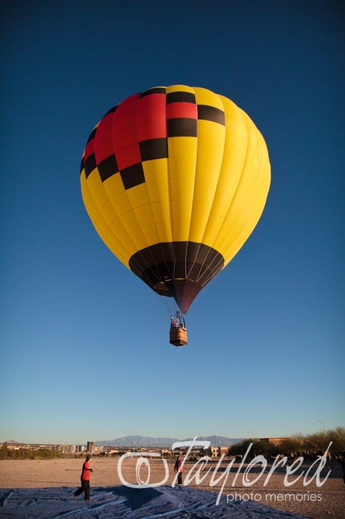 Vegas Hot Air Balloon Rides | Adventure Wedding ...