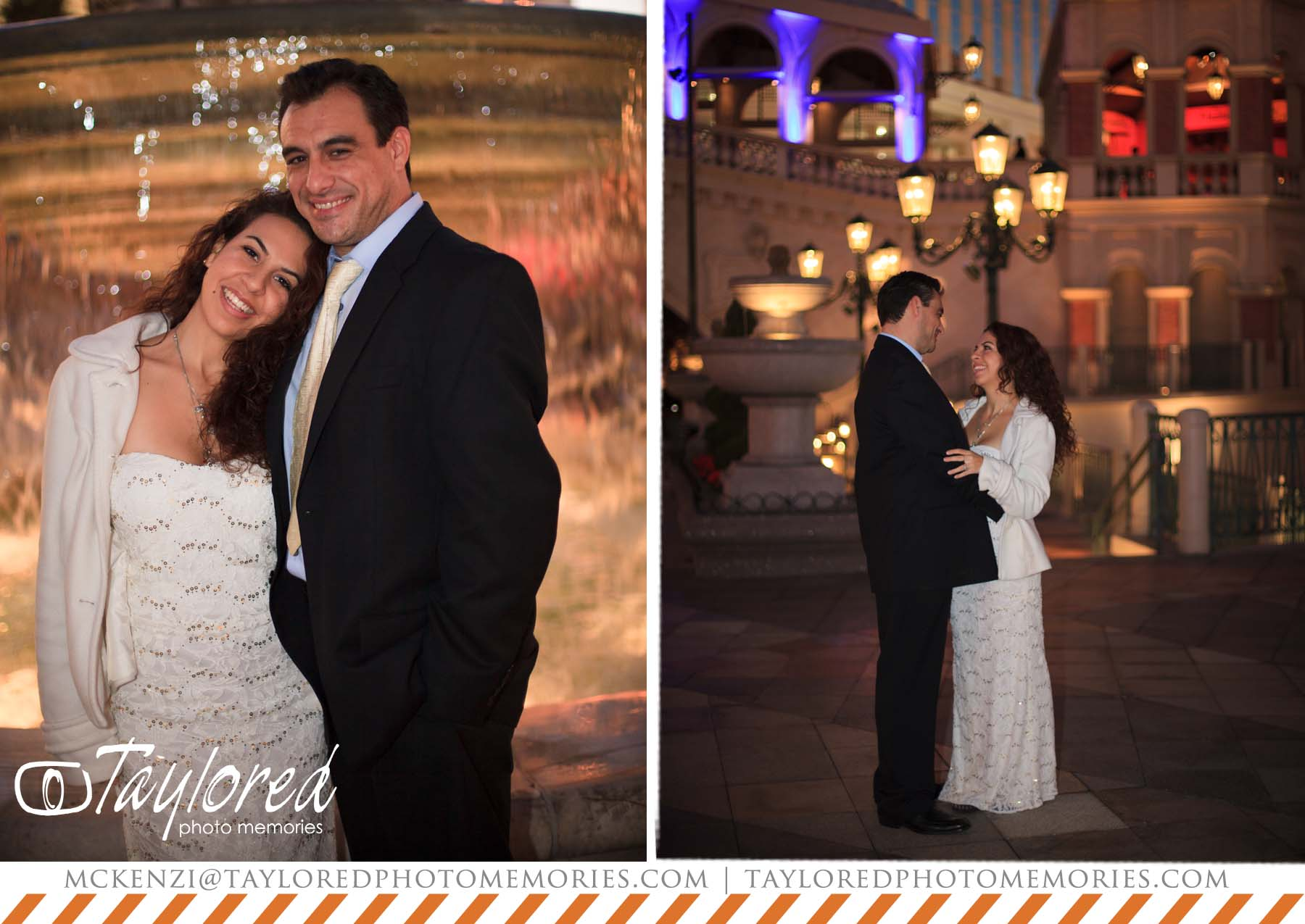 Vegas elopement wedding packages mini bridal for Venetian las vegas wedding photos