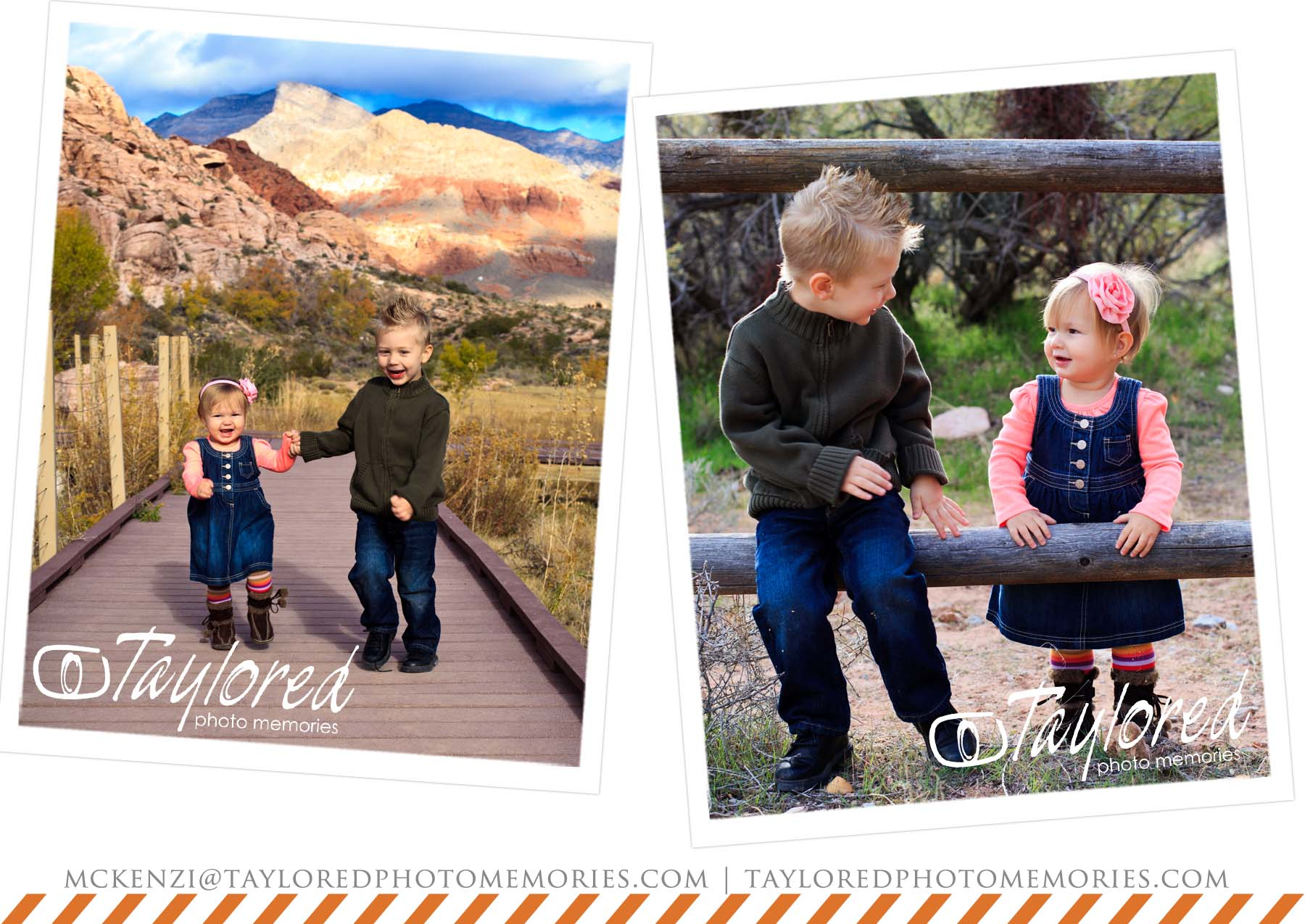 Vegas Family Pictures | Calico Basin | Holiday Photo Session