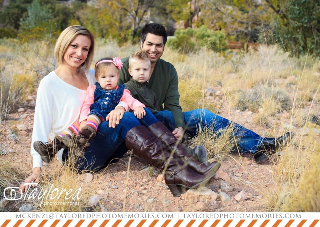 vegas family pictures - taylored photo memories