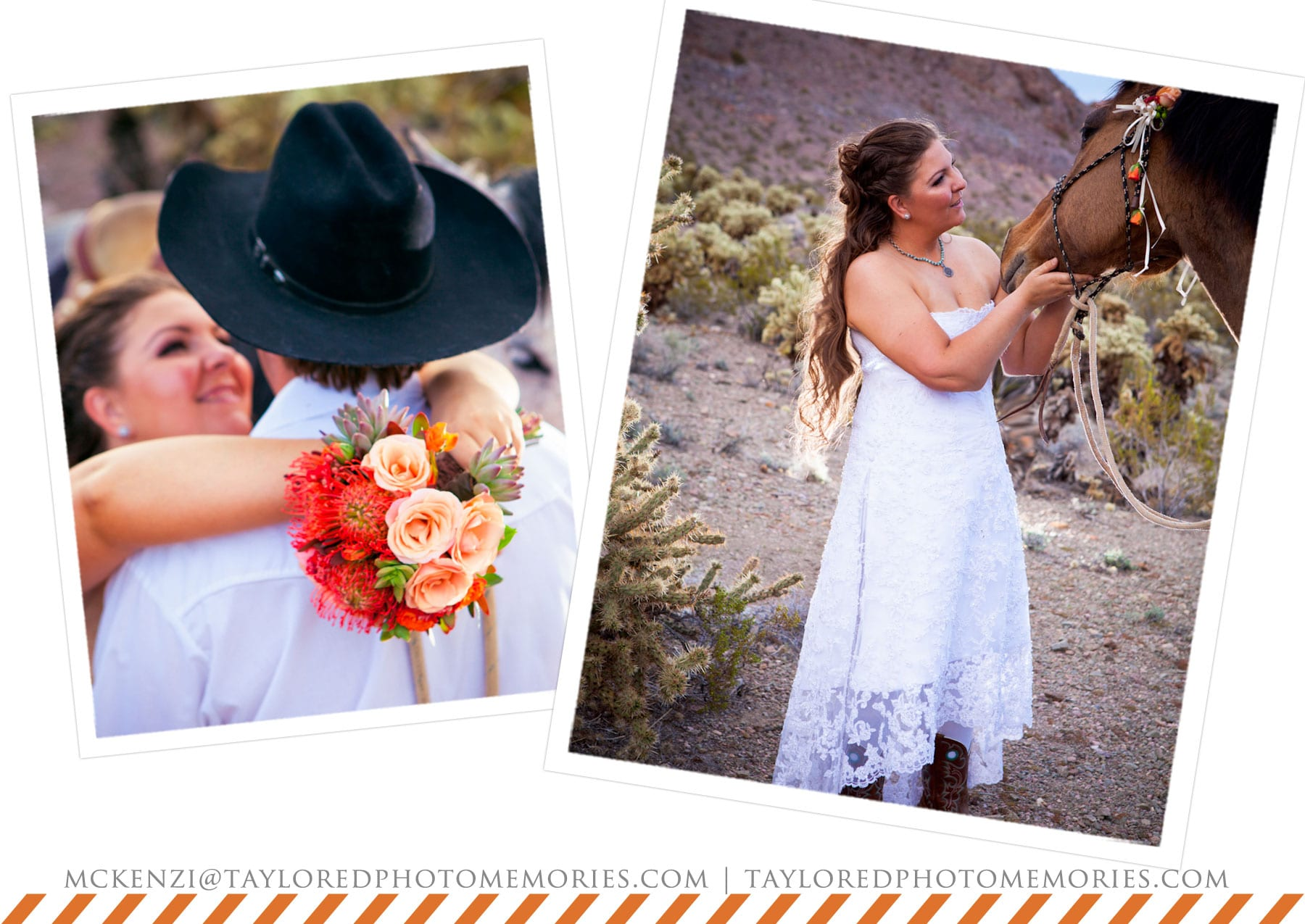 Simple Ceremony | Adventure Wedding Photography | Horse Wedding | Taylored Photo Memories