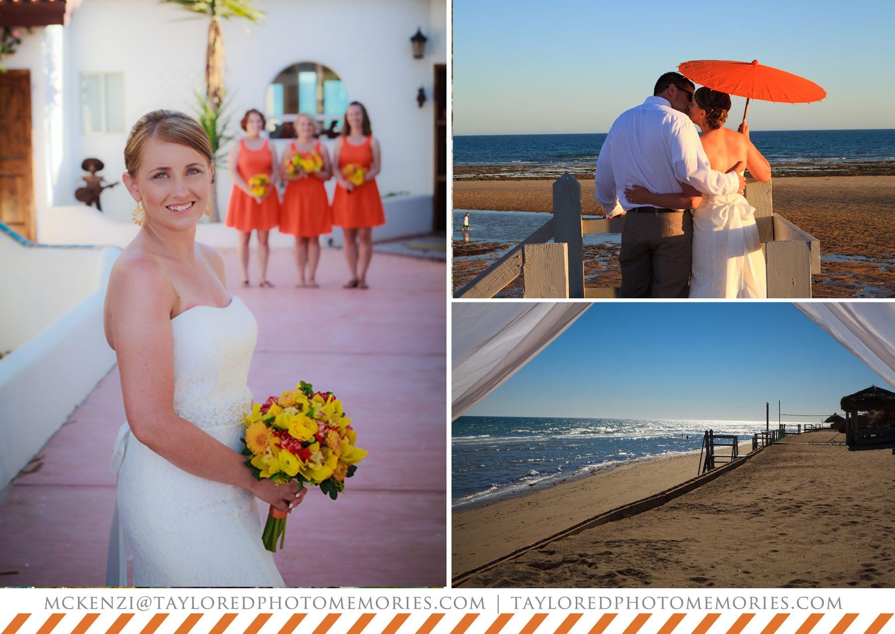 beach wedding in mexico | taylored photo memories | adventure wedding photographer