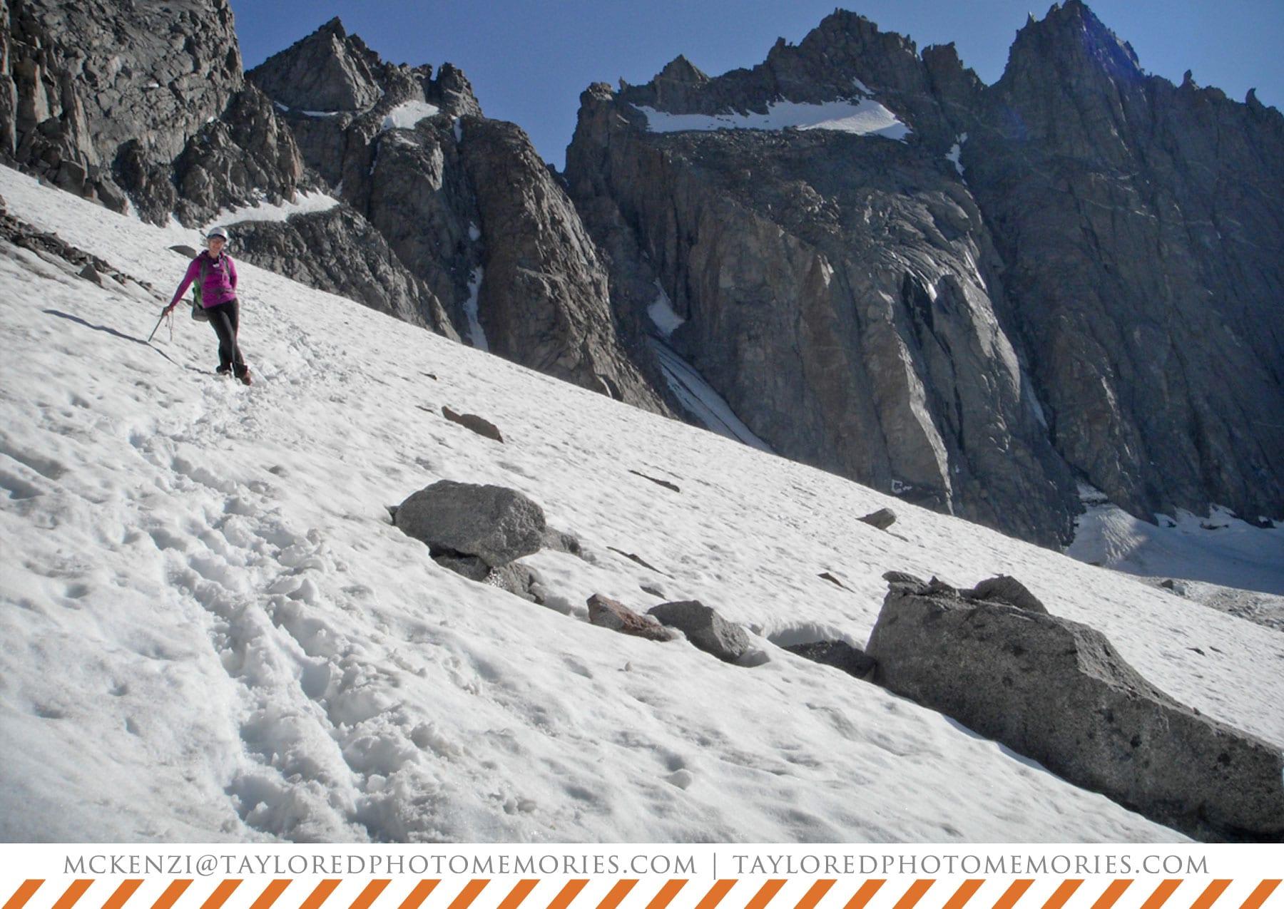 Rock Climbing Mt. Sill