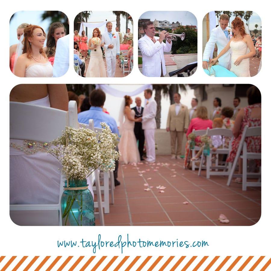San Clemente Beach Wedding | Taylored Photo Memories