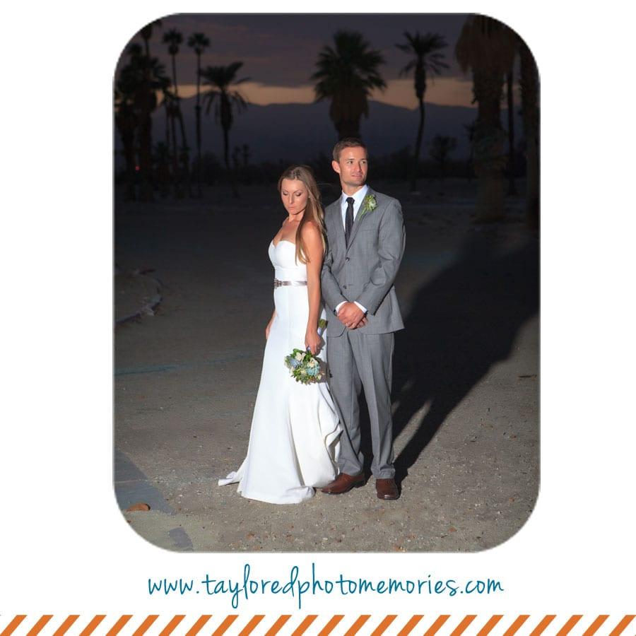 Taylored Photo Memories | Palm Springs Wedding | Simple Desert Wedding