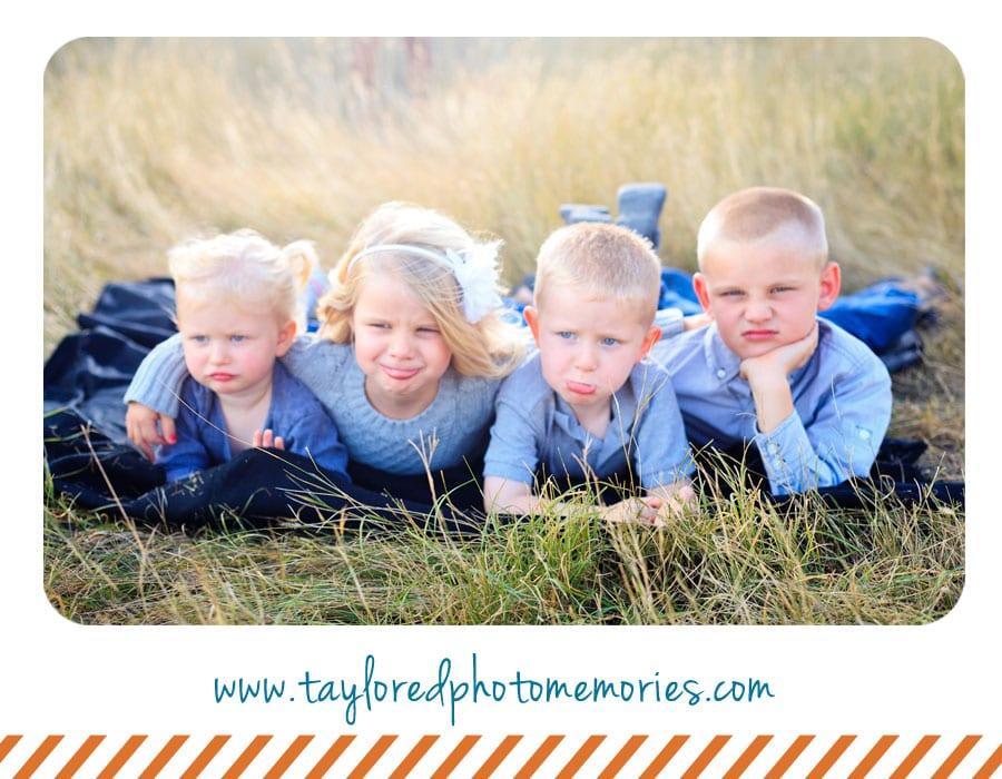 Outdoor Family Photo Ideas