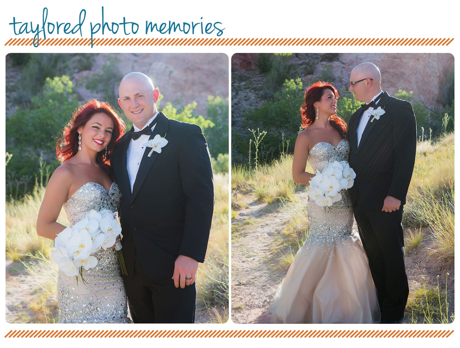 Las Vegas Elopement | Aria Chapel + Red Rock Canyon