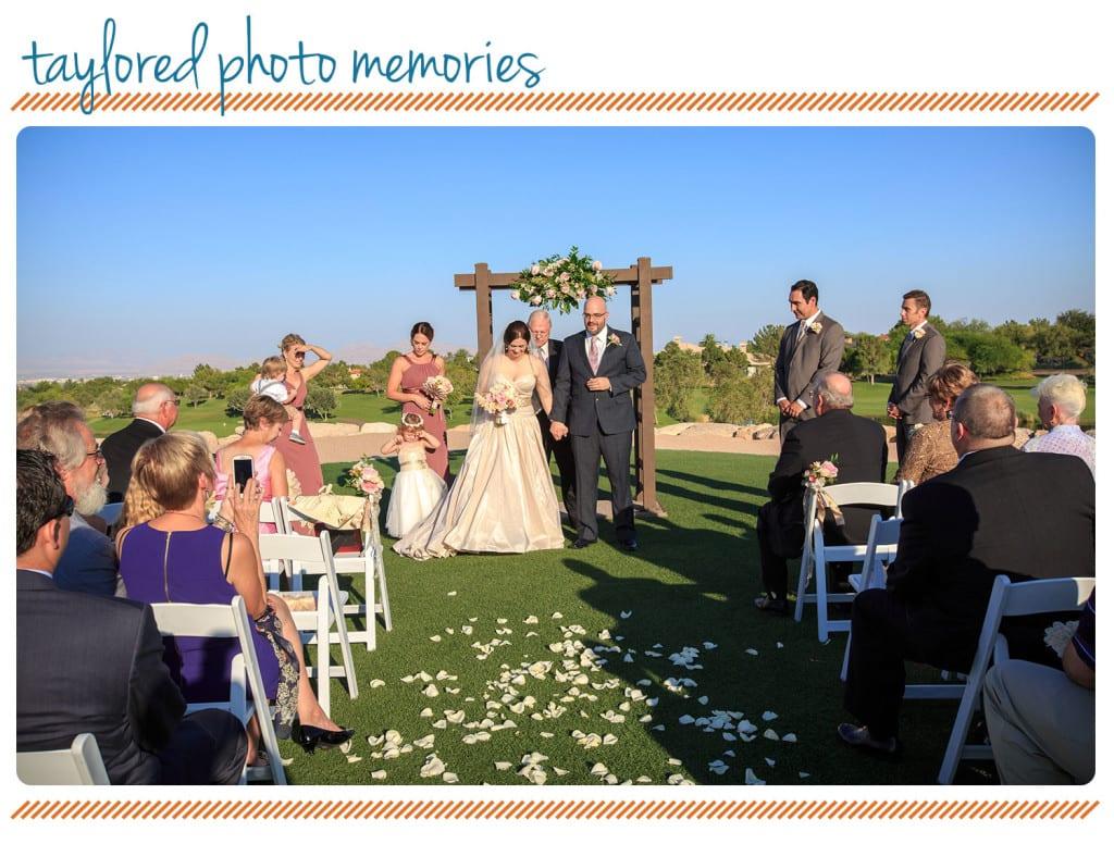 Fairy Tale Wedding in Las Vegas at TPC Summerlin