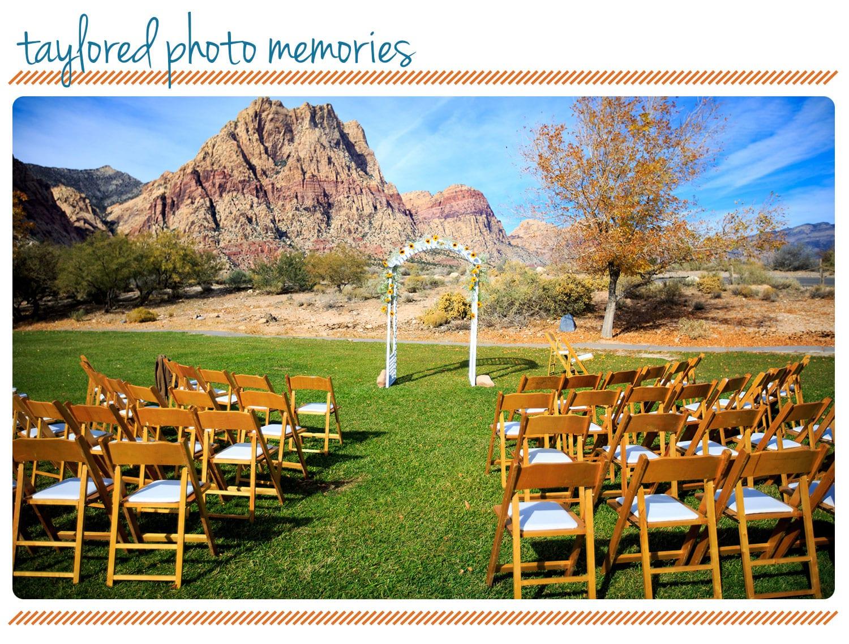 Wedding Spring Mountain Ranch State Park
