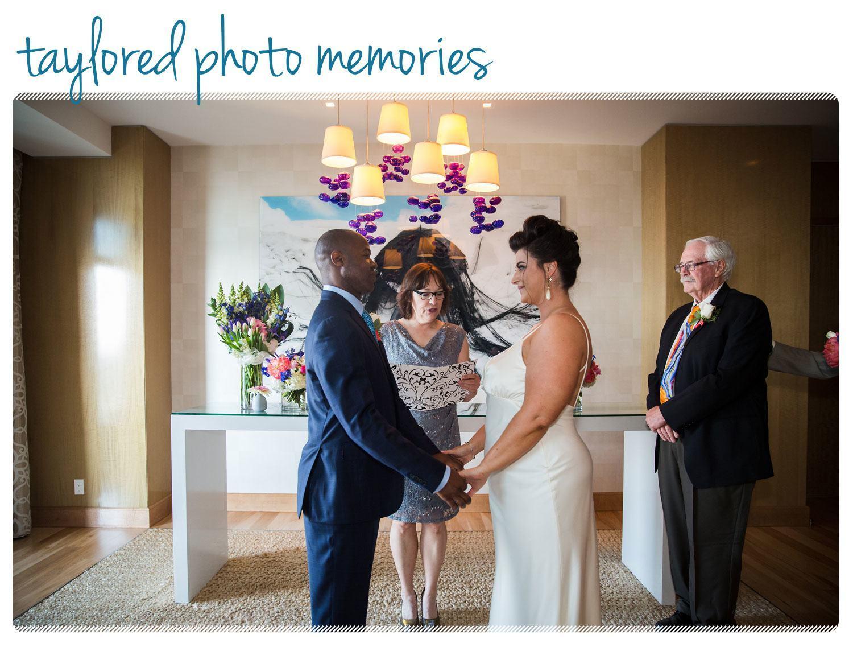 Impromptu Cosmopolitan Hotel Las Vegas Wedding
