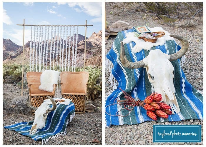 Desert Photo Shoot with Vintage Props | Las Vegas Photography | Nostalgia Resources | Taylored Photo Memories
