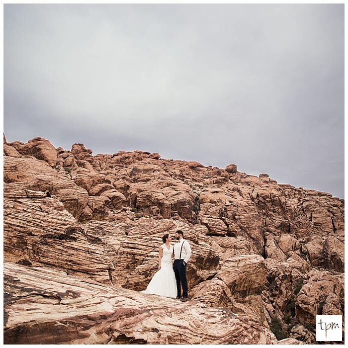 Red Rocks Wedding: Las Vegas Photographers