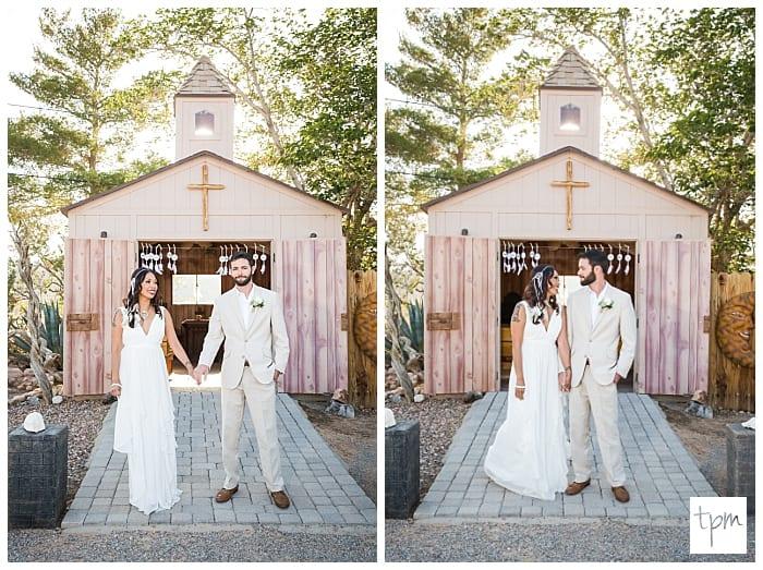 Desert Wedding Venue with a Cute Chapel