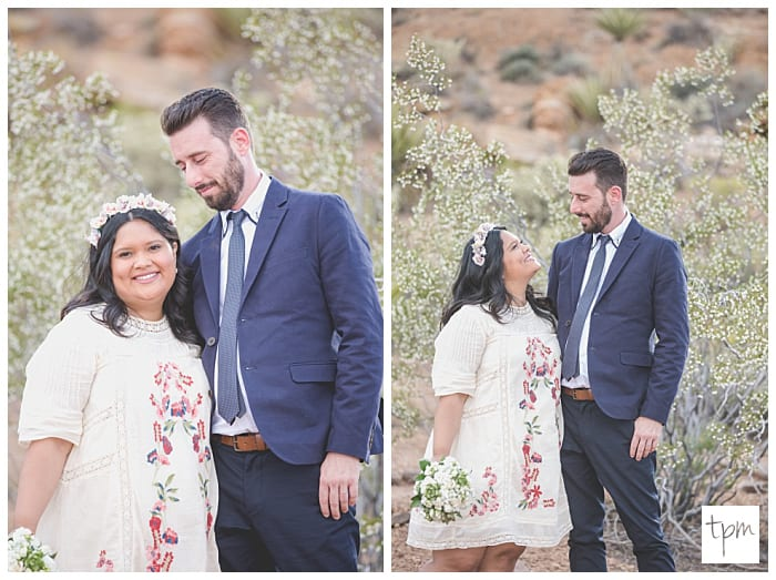 Sweet and Intimate Red Rock Canyon Wedding at Spring Mountain Ranch