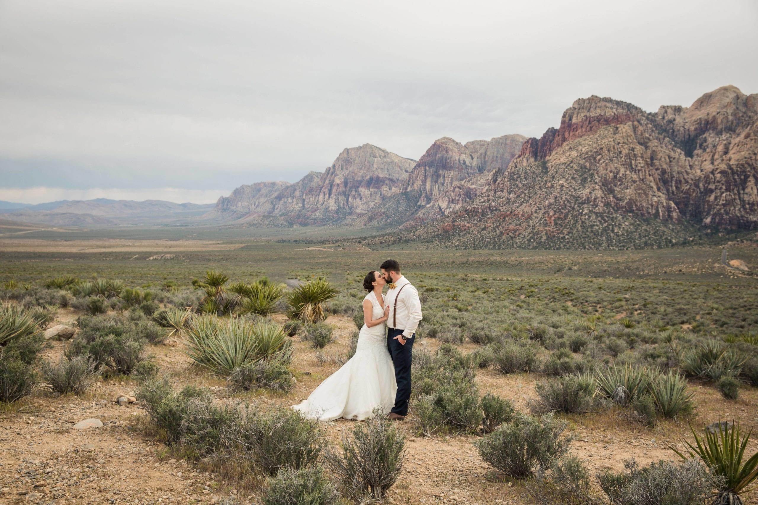 Amazing Desert Wedding in Red Rock Canyon, Las Vegas