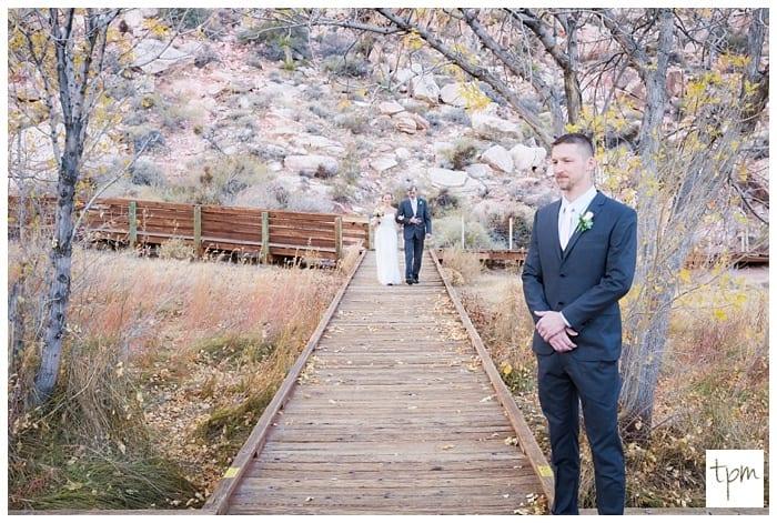Winter Desert Wedding in Las Vegas