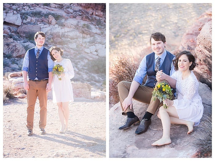 Red Rock Canyon & Neon Museum Wedding