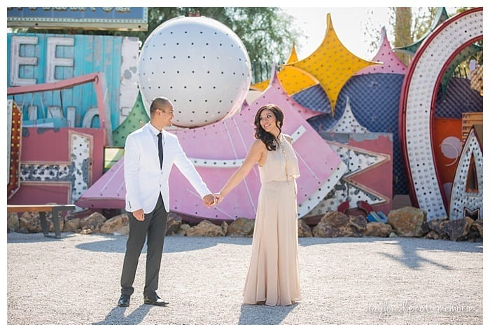 Photography by www.TayloredPhotoMemories.com |Neon Museum Wedding Guide