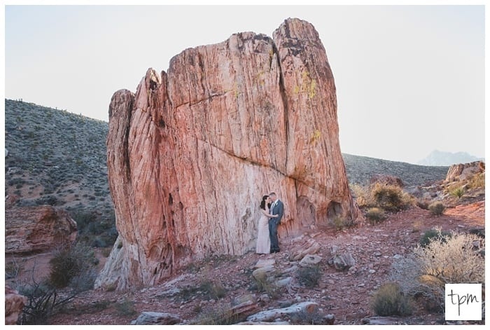 Calico Basin Wedding in Red Rock Canyon