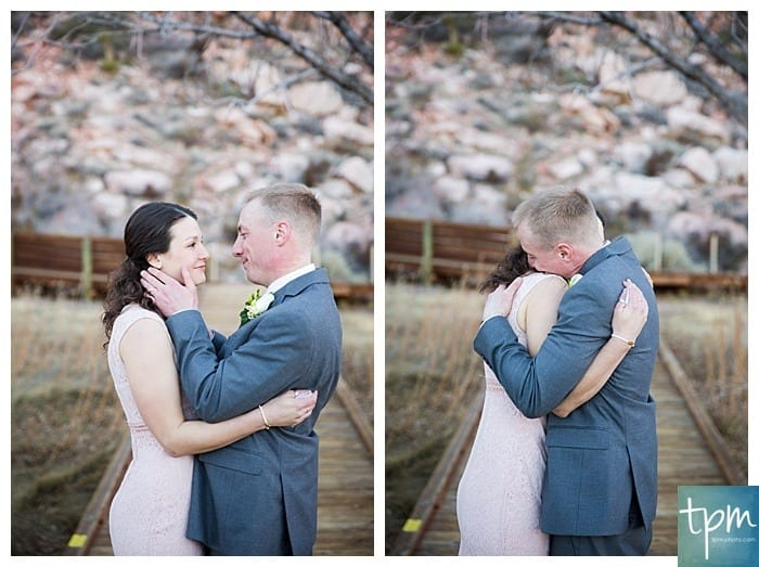 Rock Climber Wedding, Vegas Wedding Photographers, Edgy Wedding Photography