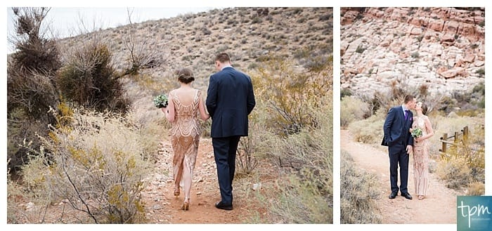 New Years Eve Red Rock Canyon Elopement, Vegas Wedding Photographers, Edgy Wedding Photography
