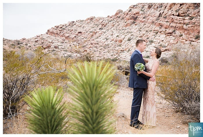 New Years Eve Red Rock Canyon Elopement