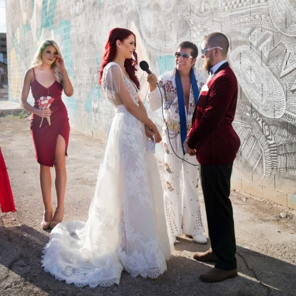 Downtown Vegas Wedding