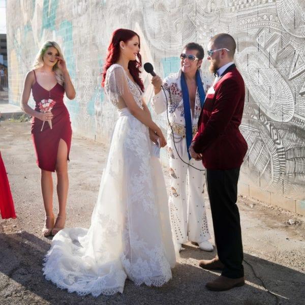 Downtown Vegas Wedding