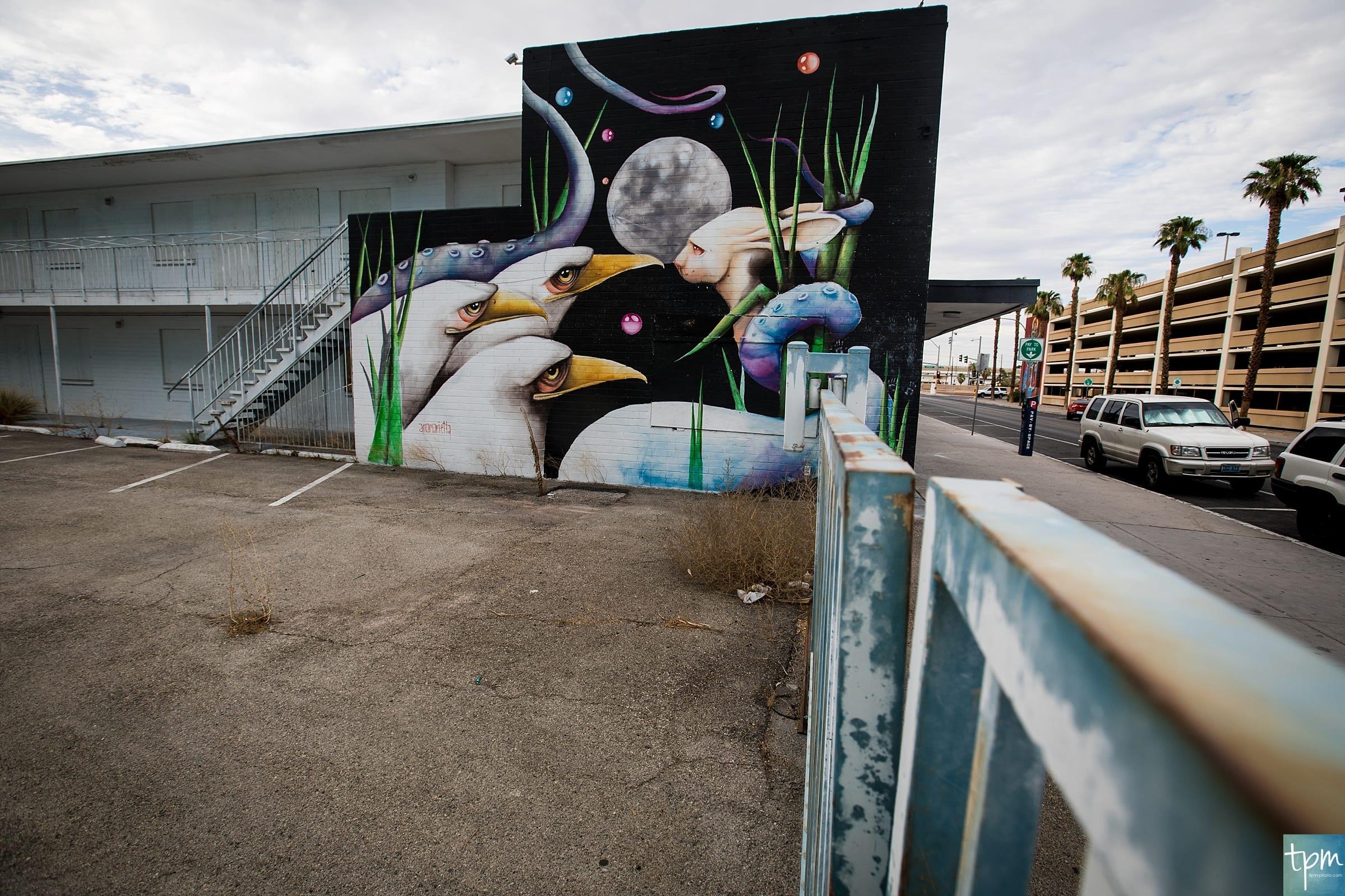 Full Moon, Ana Maria Ortiz, Taylored Photo Memories, Las Vegas Murals