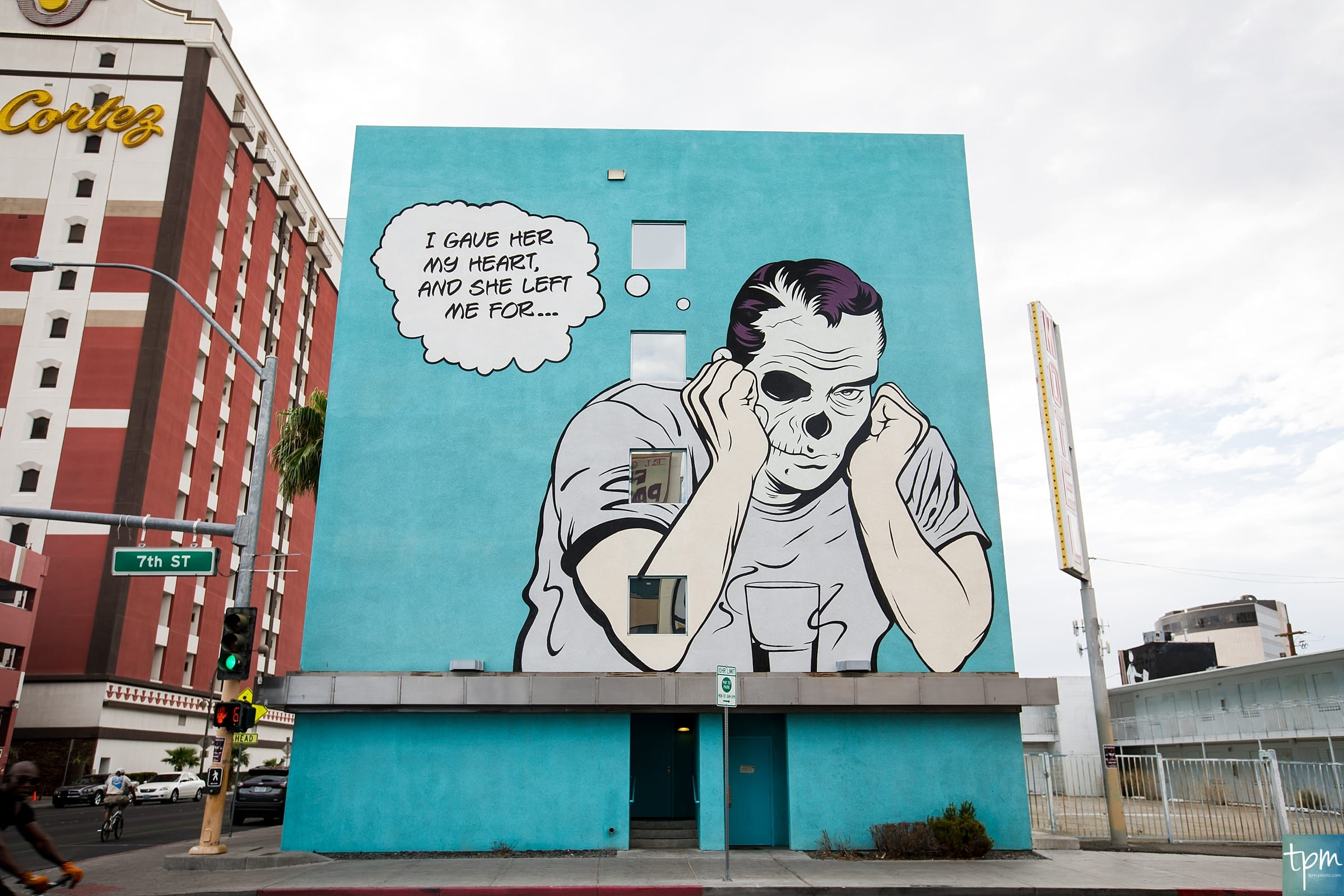 D*Face, 7th Street, Taylored Photo Memories, Las Vegas Murals