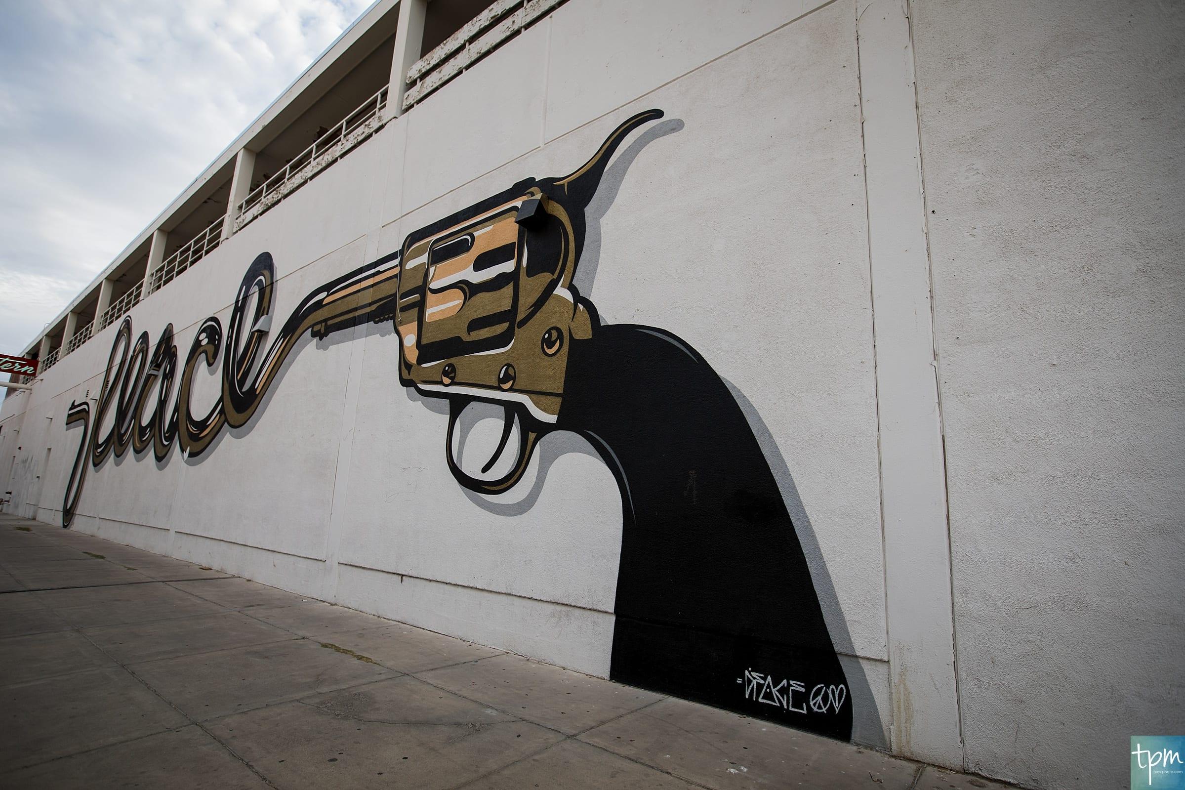 D*Face, Peacemaker, Taylored Photo Memories, Las Vegas Murals
