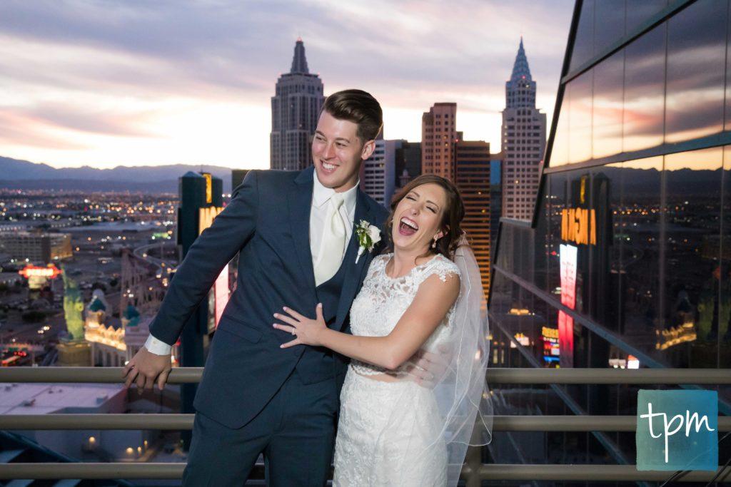 Las Vegas Wedding Photographers, MGM Grand Skyline Terrace Wedding