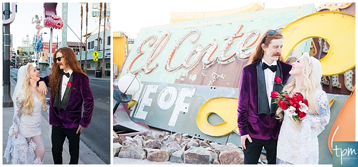 This rocker couple from Australia took Vegas in with a photo tour of the murals in downtown Vegas and the Neon Museum